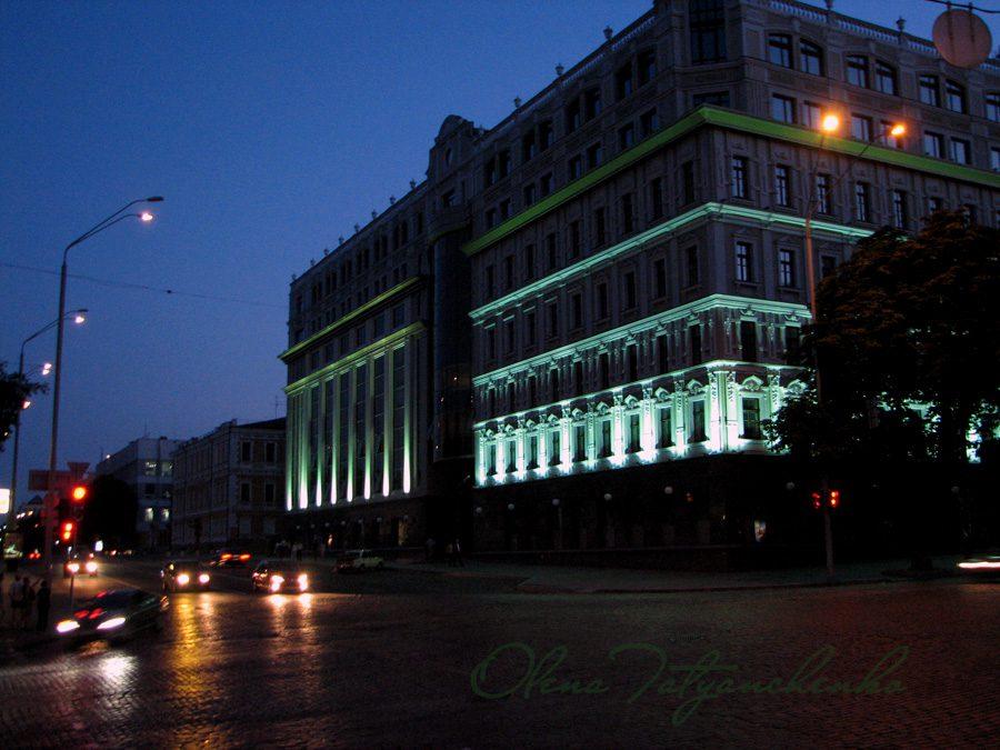 Київ ввечері - Фото Олени Татьянченко