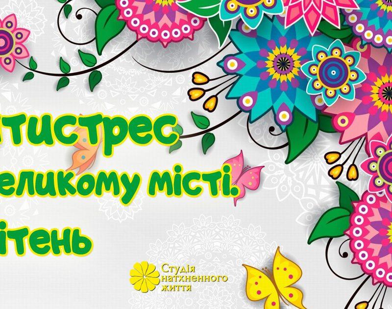 Програма антистрес в Києві. Коуч-студія натхненного життя.